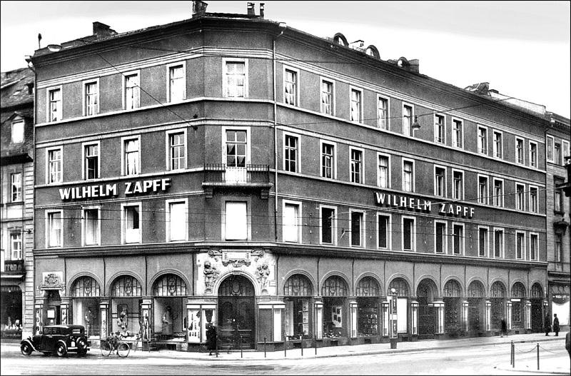 Kaufhaus Zapff, 1936 © Geschichtswerkstatt