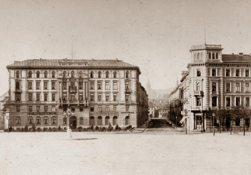 Kaiserplatz, vor 1890 © Geschichtswerkstatt