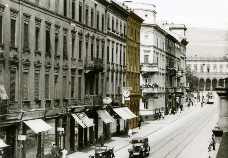 Kaiserstraße 25, 1935 © Stadtarchiv Würzburg