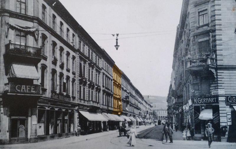 Kaiserstraße 7, vor 1916 © Stadtarchiv Würzburg