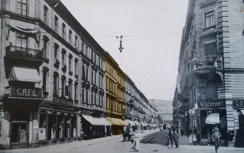 Kaiserstraße 5-7, vor 1916 © Stadtarchiv Würzburg